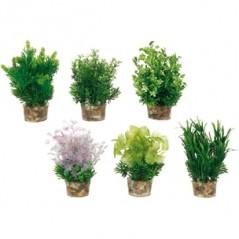 Aquariumplant plastic - S
