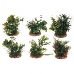 Aquariumplant plastic - M