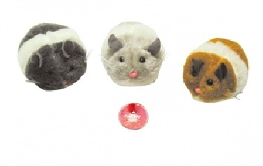 Cattoy Shaking Jerry Pluche muis