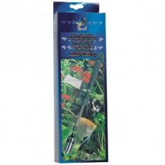 Aquariumstofzuiger op batterijen
