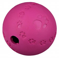 Dog toy rubber snackbal labyrinth
