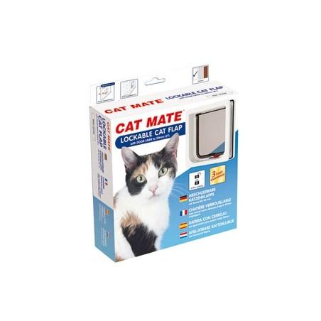 Cat Mate Poezendeur Afsluitbaar Verstelbaar