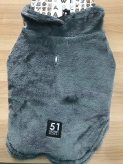 51DN Sweater Soft & Fluffy - Donkergrijs