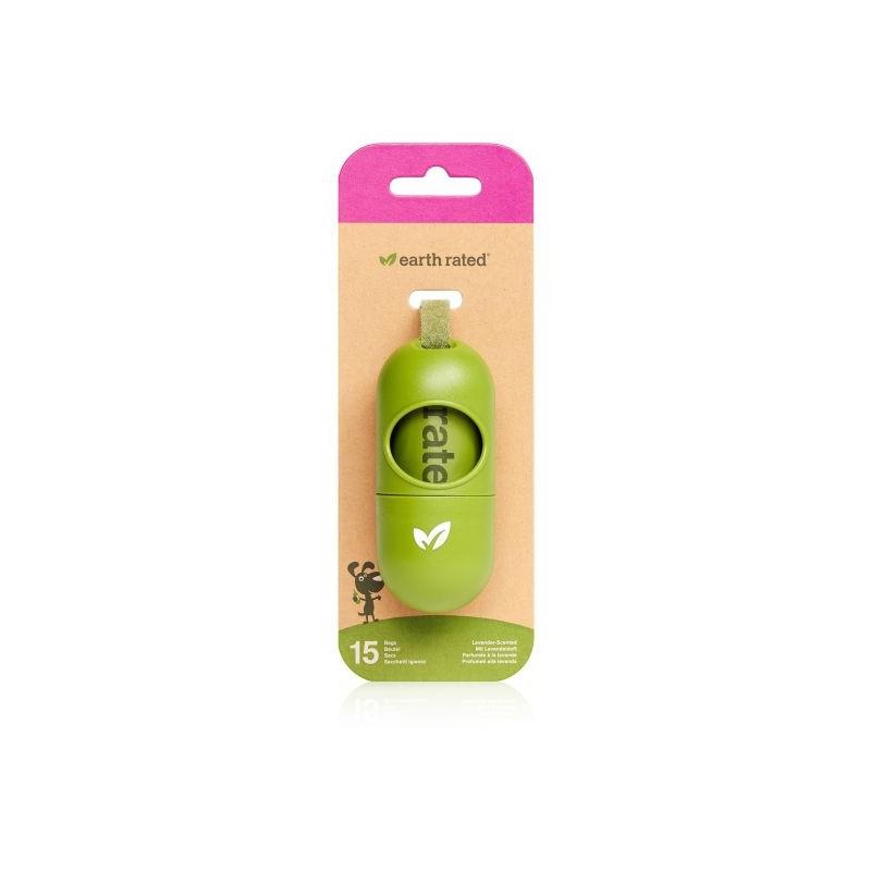 Earth Rated Poepzakjes Lavendelgeur - dispenser