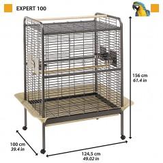Papegaaienkooi Expert 100