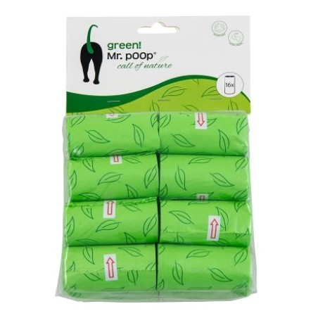 Poepzakjes Mr Poop Green
