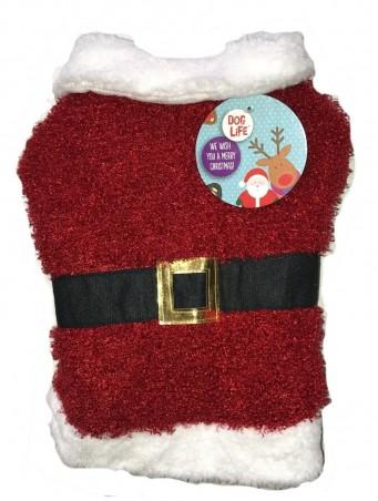 Doglife Fluffy Santa Suit